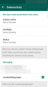 Whatsapp wann zuletzt online